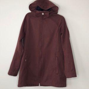 FIREFLY Ventmax raisin fleece lined hooded jacket